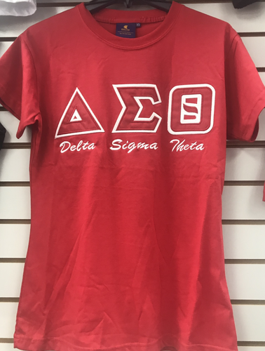 Delta Sigma Theta Applique T-Shirt