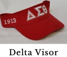 Load image into Gallery viewer, Delta Sigma Theta Visor