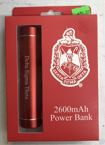 Delta Sigma Theta Power Bank