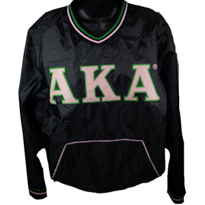 AKA Pullover Windbreaker Jacket
