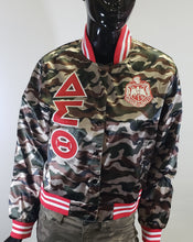 Load image into Gallery viewer, Delta Satin Camo Jacket