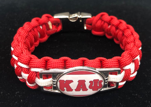 Kappa Alpha Psi Braided Bracelet