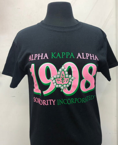 Alpha Kappa Alpha Short Sleeve T-shirt