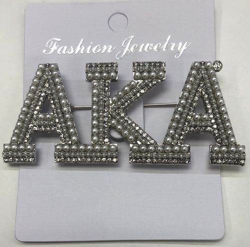 Alpha Kappa Alpha Broach Pin