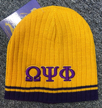 Load image into Gallery viewer, Omega Psi Phi Beanie