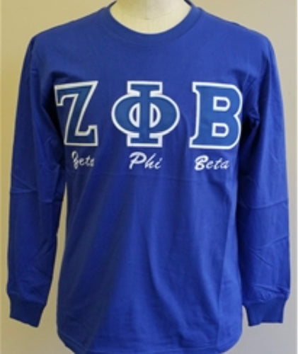Zeta Long Sleeve Applique