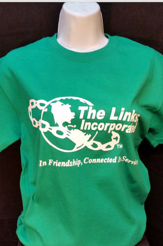 Links logo t-shirt