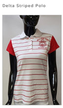 Load image into Gallery viewer, Delta Striped Polo