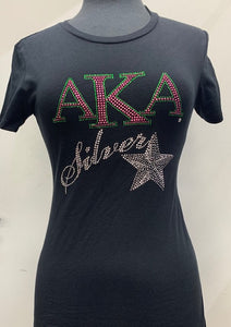 AKA Silver Star Fitted Shirt
