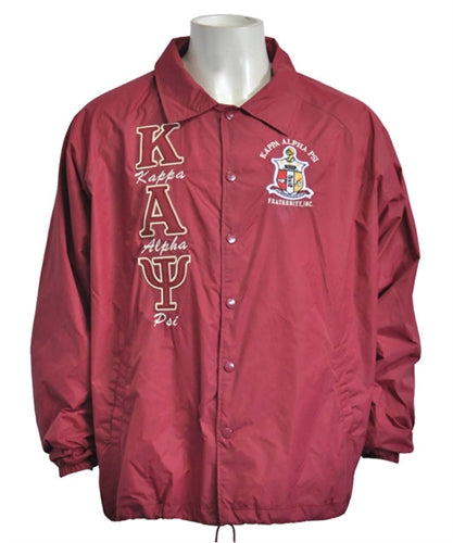 Kappa Line Jacket (Crimson)