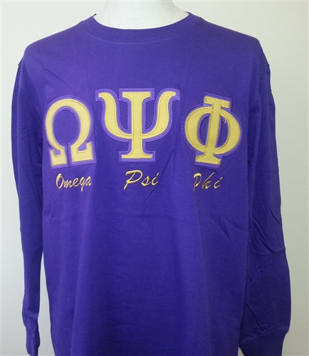 Omega T-Shirt Long Sleeve