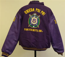 Load image into Gallery viewer, Omega Varsity Jacket