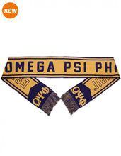 Load image into Gallery viewer, Omega Psi Phi Scarf