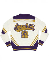 Load image into Gallery viewer, Omega Psi Phi Sweater Cardigan