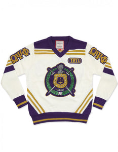 Omega Psi Phi Sweater Cardigan