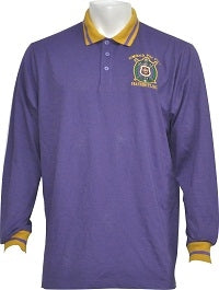 Omega Long Sleeve Polo