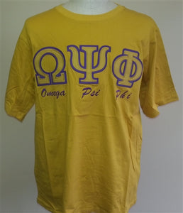 Omega T Shirt Short Sleeve