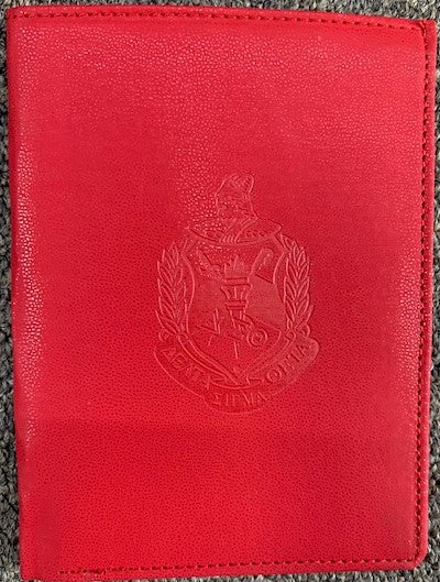 Delta Sigma Theta Passport Cover