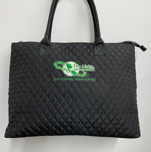 LINKS Quilted Tote Bag
