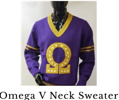 Omega V-neck Sweater