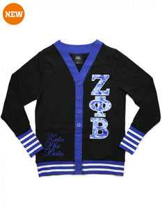 ZPB SEQUIN PATCH CARDIGAN