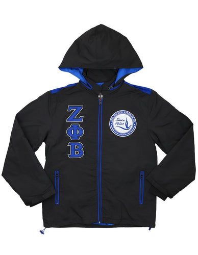 Zeta Phi Beta Windbreaker Jacket