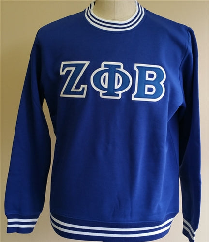 Zeta Crew Neck Sweatshirt