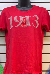 Delta 1913 Bling Fitted T-shirt
