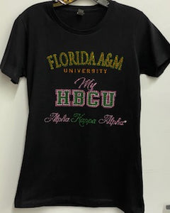 "AKA Fitted My HBCU FAMU  (Email or call us for ""Your School"")"