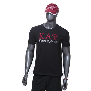 Kappa Alpha Psi 3D Embroidered Tee