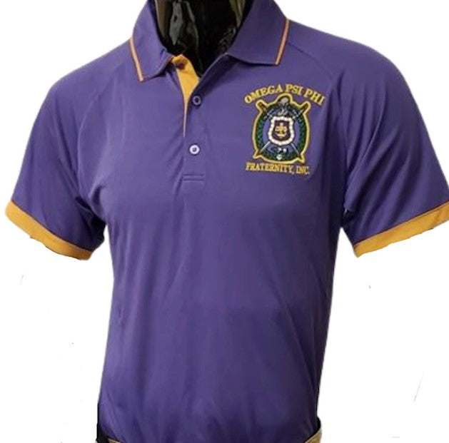 Omega Dry Fit Polo