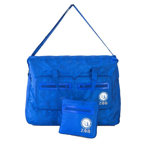 Zeta Phi Beta Folding Tote Bag