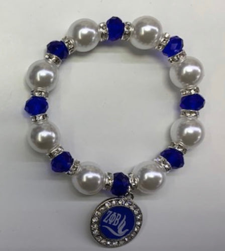 Zeta Phi Beta  Stretch Bracelet