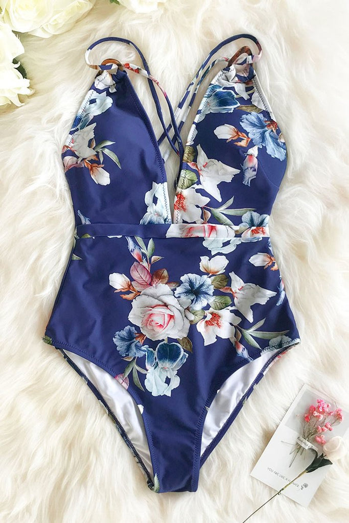 Brandy Floral Swimsuit
