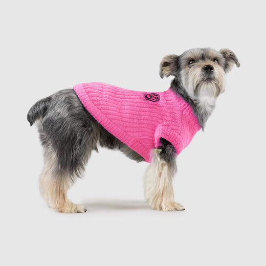 Highlighter Dog Sweater in Neon Pink, Canada Pooch Dog Sweater