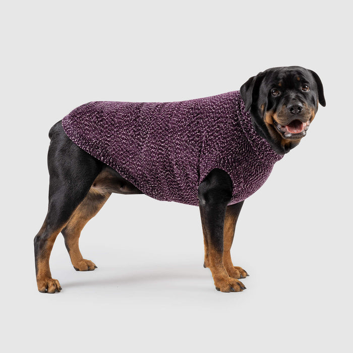 Soho Dog Sweater in Magenta, Canada Pooch Dog Sweater