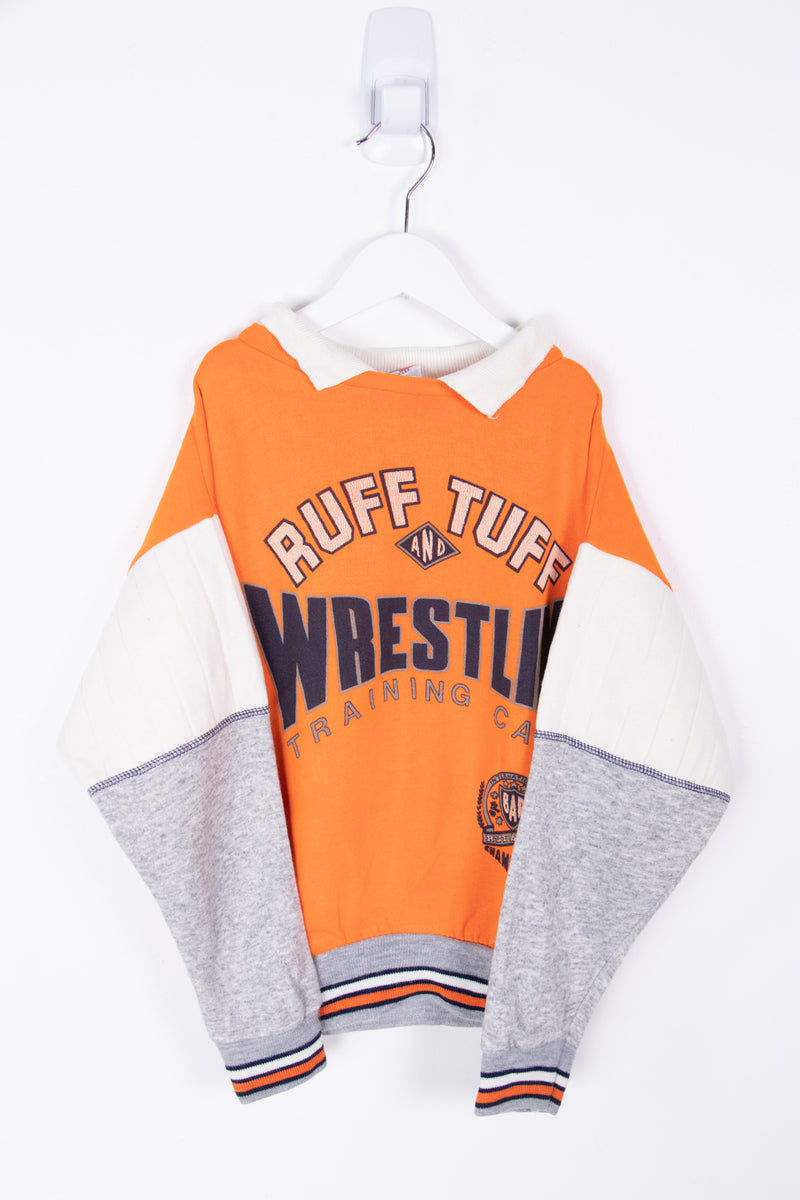 Vintage Wrestling Camp Sweater *7-8 yrs*