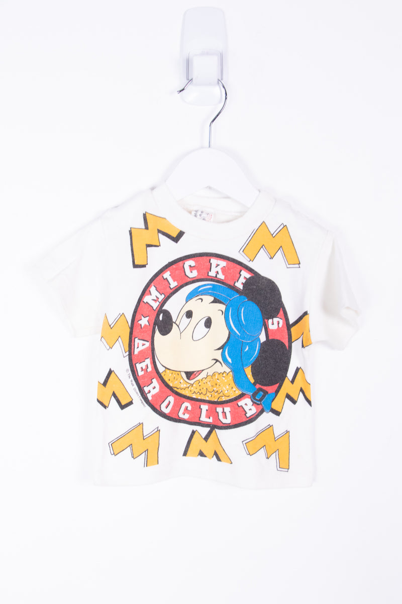 Vintage Mickey Mouse Tee *0-6 Months