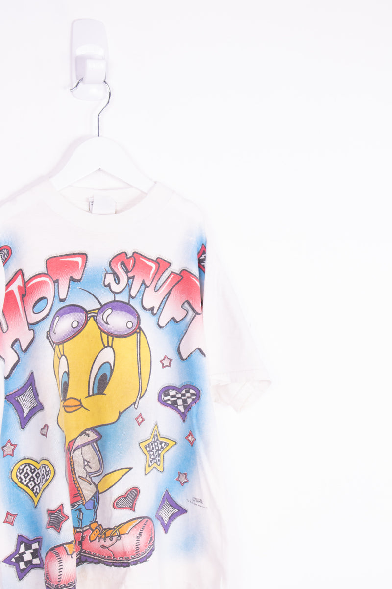 Vintage 1995 Tweety Bird Tee *7-8 Yrs*