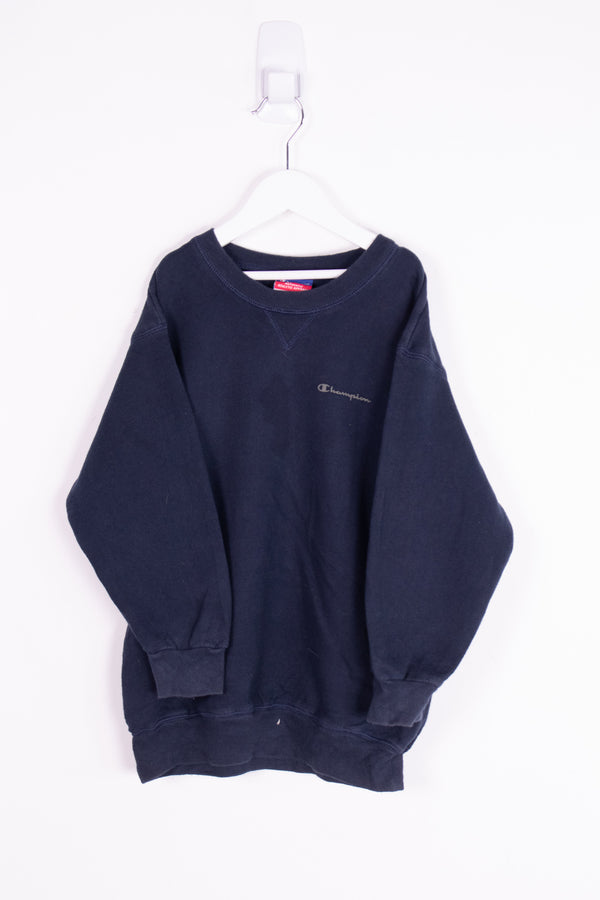 Vintage Champion Script Crewneck Sweater *7-8 Yrs*