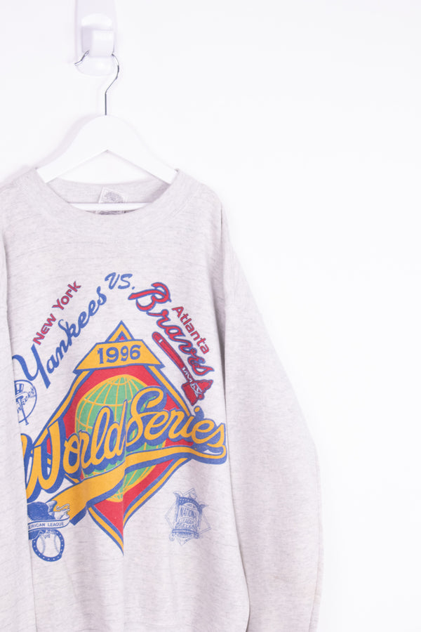 Vintage 1996 MLB World Series Crewneck Sweater *10-12 Yrs*