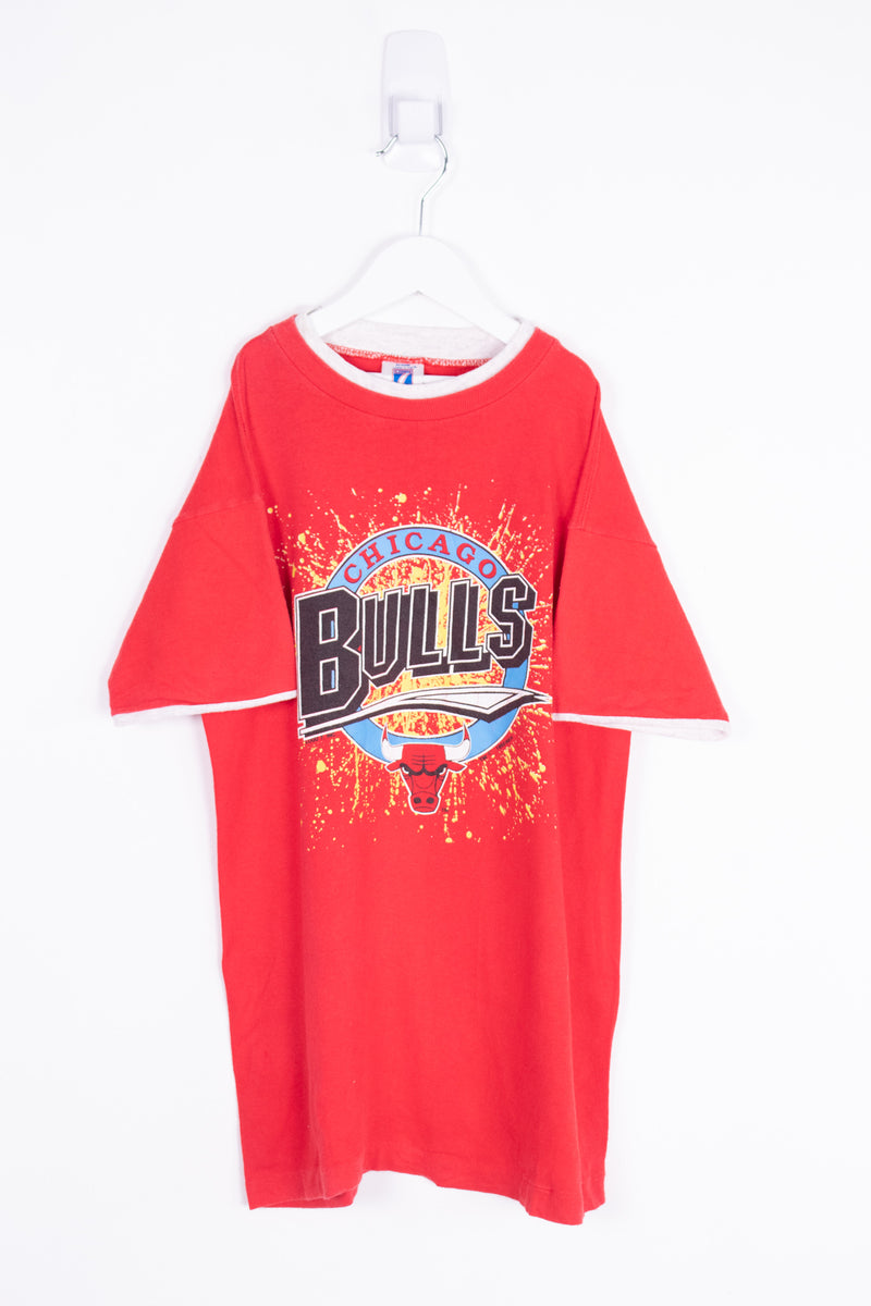 Vintage 1990 NBA Chicago Bulls Tee *10-12 Yrs*