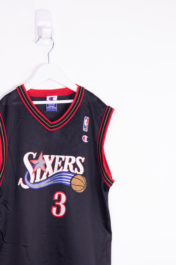 Vintage NBA 76ers Iverson Jersey *10-12 Yrs*