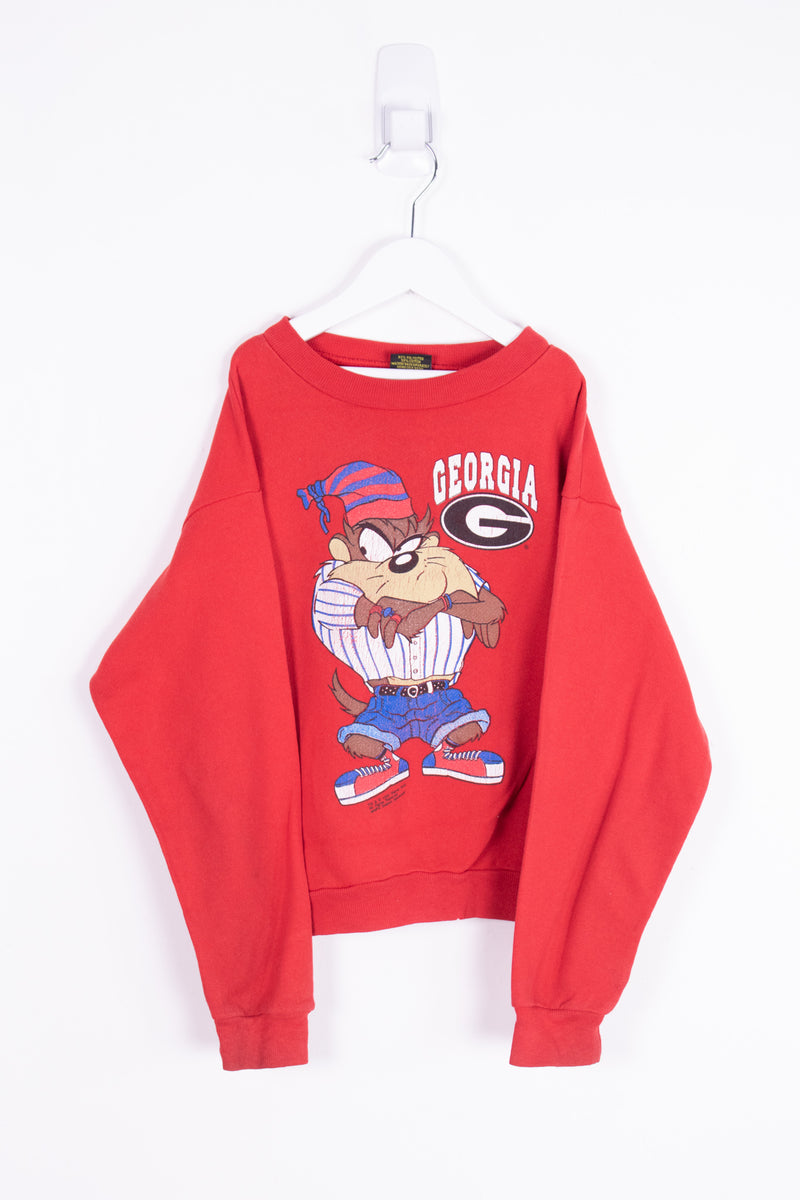 Vintage 1993 Looney Tunes Taz Crewneck Sweater *10-12 Yrs*