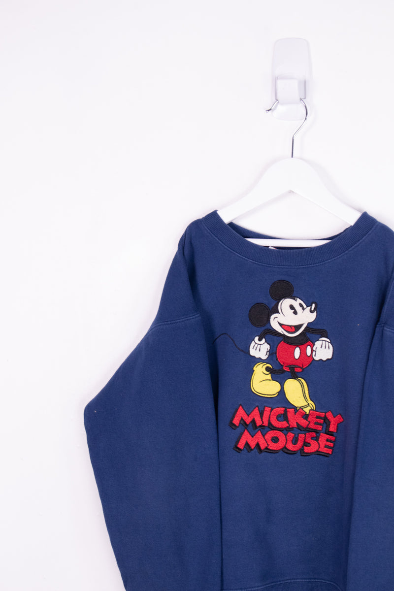 Vintage Disney Mickey Mouse Crewneck Sweater *10-12 Yrs*