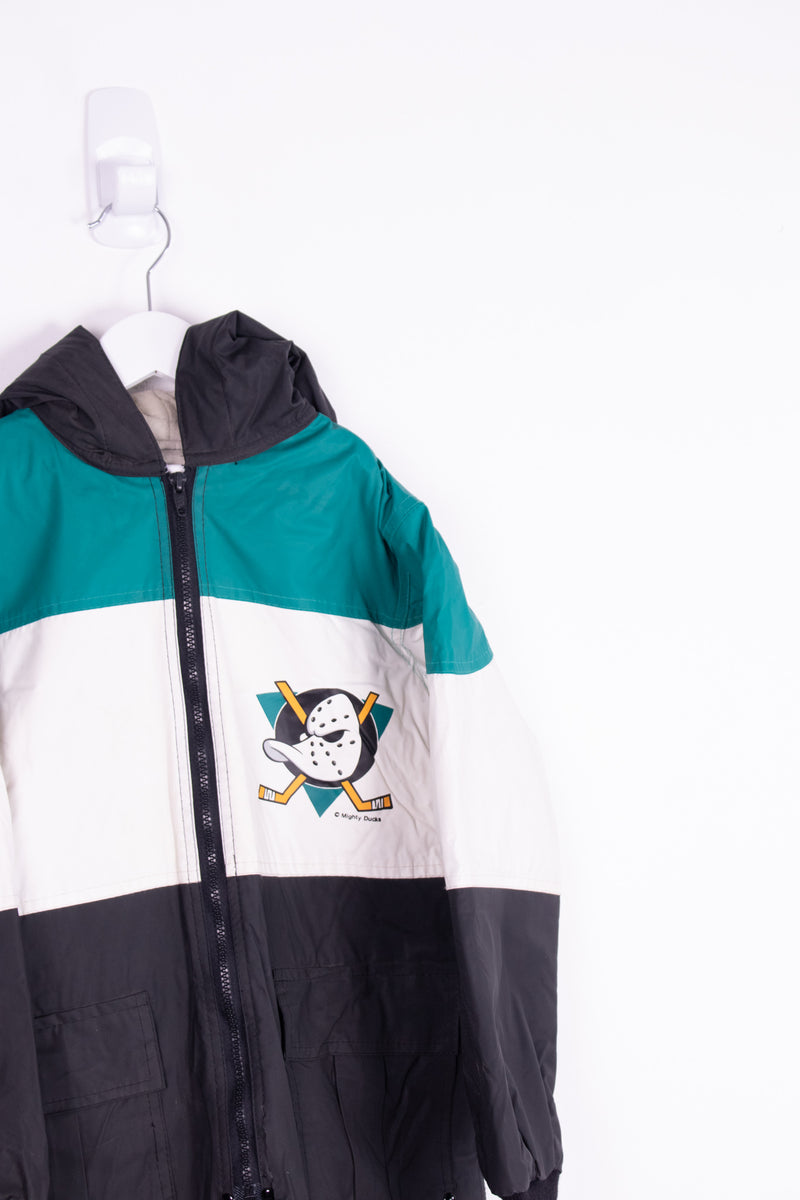 Vintage Mighty Ducks Jacket *9-10 yrs*