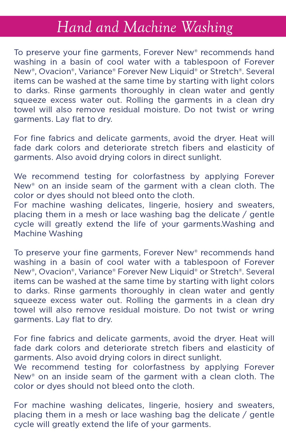 more tips by forever new laundry care detergent
