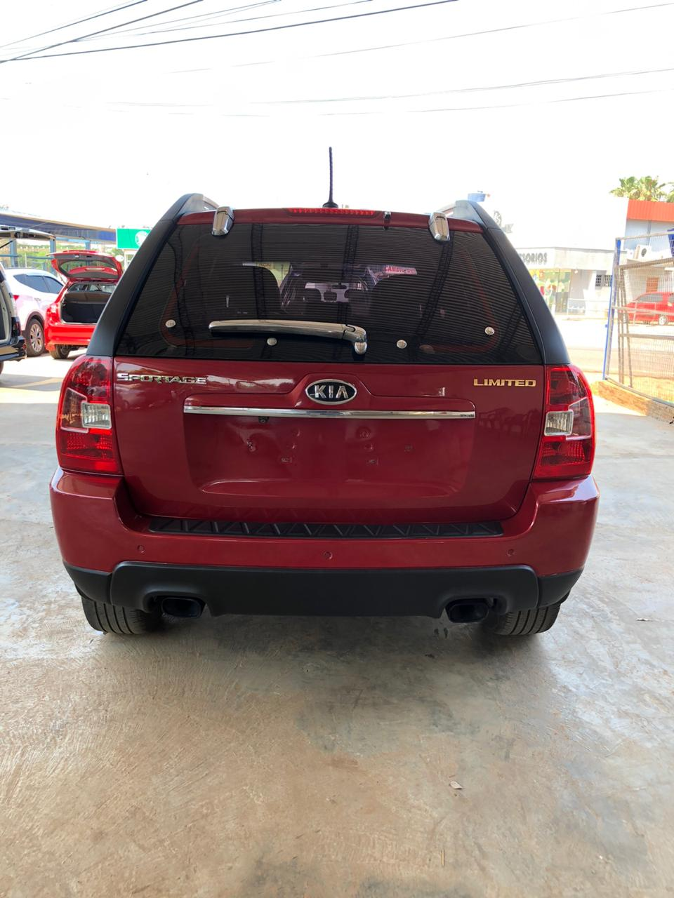 KIA SPORTAGE COLOR BORDO 2009