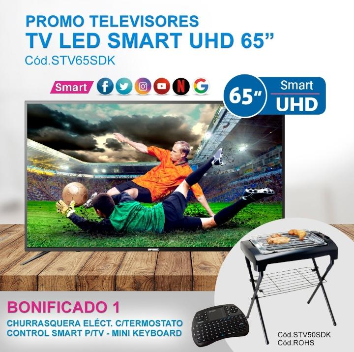 TV LED SMART UHD 65 SPEED
