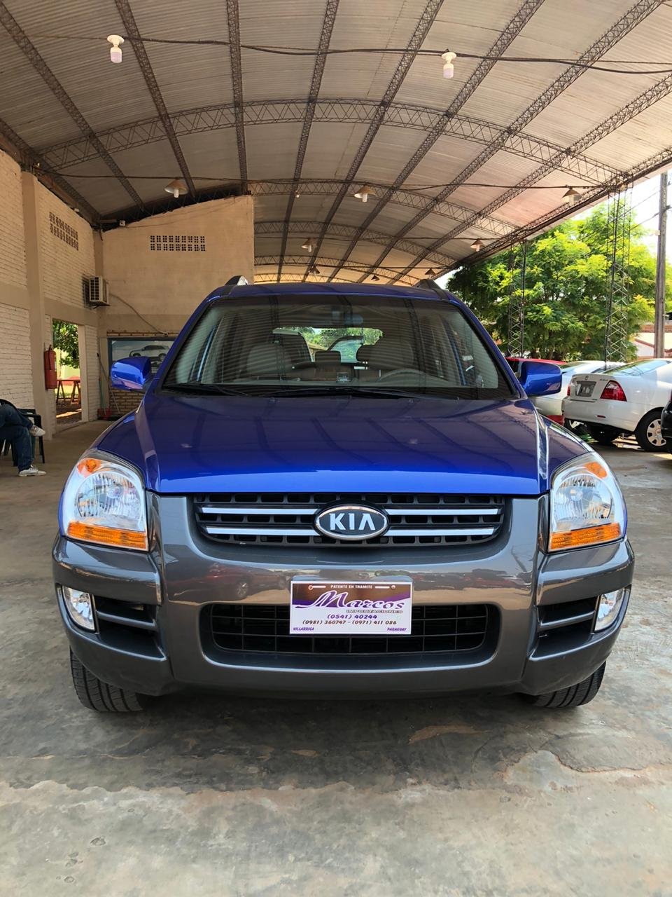 KIA SPORTAGE COLOR AZUL 2005
